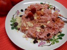 Ryż na różowo z patelni