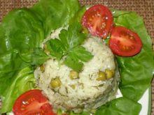 Ryż na zielono :