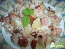 Ryż podsmażany z boczkiem