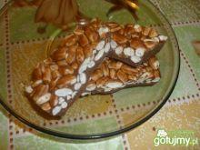 Ryż preparowany kąpany w czekoladzie:)