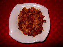 Ryż smażony z kurkami