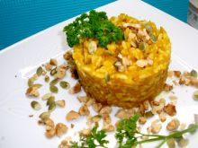 Ryż w sosie dyniowym
