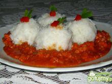 Ryż w sosie mięsnym