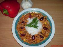Ryż w sosie pomidorowym