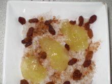 Ryż z cynamonem i jabłkową galaretką