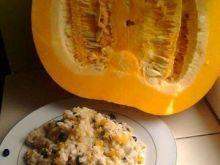 Ryż z dynią i czarną fasola