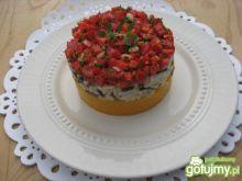 Ryż z dyniowym puree i pikantną salsą