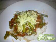 Ryż z fasolką szparagową