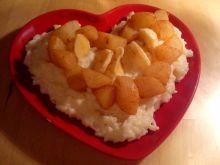 Ryż z gruszkami
