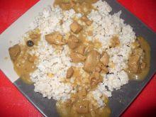 Ryż z gulaszem indyczym