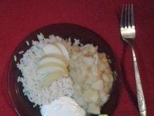 Ryż z jabłkami 10