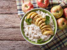 Jak zrobić ryż z jabłkami?