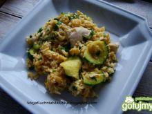 Ryż z jajkiem i kurczakiem