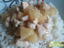 Ryż z kurczakiem i ananasem 3