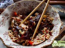Ryż z kurczakiem i grzybkami mun