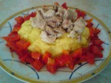 Ryż z kurczakiem i papryką
