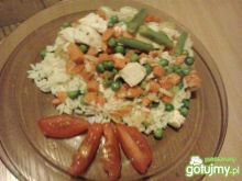 Ryż z kurczakiem i warzywami 3
