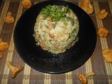 Ryż z kurkami i bobem