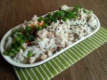Ryż z mięsem i czarnuszką na ostro