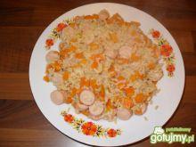 ryż z parówką dla karmicej mamy
