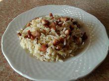 Ryż z parówkami na ostro