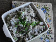 Ryż z pieczarkami i szczypiorkiem