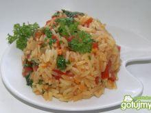 Ryż z pomidorami i ananasem