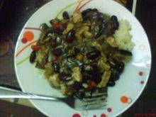 Ryż z pysznym sosem
