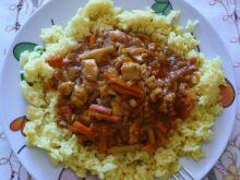 Ryż z sosem czy sos z ryżem