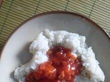 Ryż z sosem meksykańskim