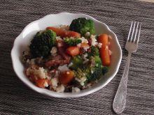 Ryż z warzywami i boczkiem