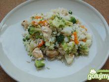 ryż z warzywami i kurczakiem xooxoo