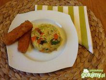 Ryż z warzywami i kurkumą