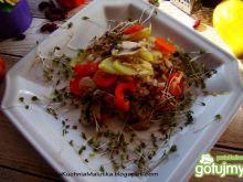 Ryż z warzywami i rzeżuchą