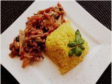 Ryż z warzywami i z kurczakiem
