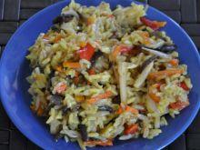 Ryż z warzywami i ziołami