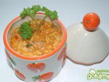 Ryż z warzywami na śmietance