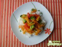 Ryż z warzywami  szybkie danie