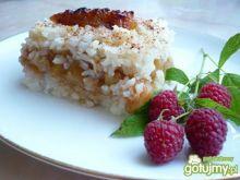 Ryż zapiekany z jabłkami wg Reniz