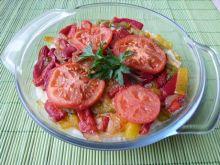 Ryż zapiekany z warzywami