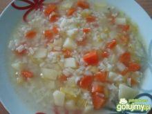 Ryżanka - lekka zupka