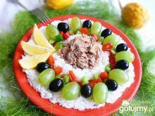 Ryżowa sałatka cytrynowa