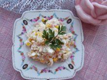 Ryżowa sałatka z wędliną