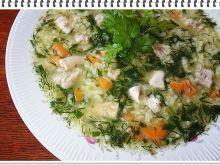 Ryżowa zupa Eli z ziołami