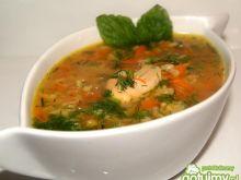Ryżowa zupa z warzywami