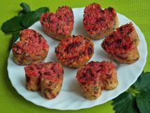 Ryżowe babeczki z botwinką