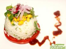 Ryżowe kopczyki do pulpetów