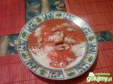 Ryżowe spaghetti
