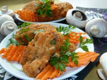 Ryżowo-marchewkowe kotleciki drobiowe