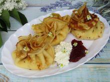 Sakiewki naleśnikowe z dżemem i białym serem